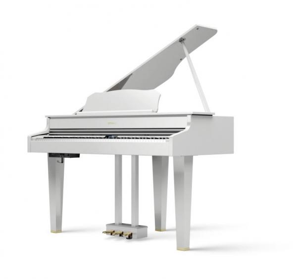 Roland GP607 weiß poliert