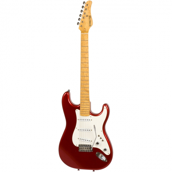 Schecter USA Custom Sultan Candy Red