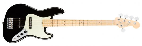 Fender AM Pro Jazz Bass V MN BLK