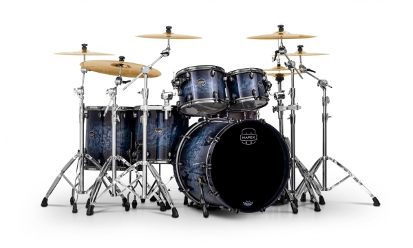 Mapex Saturn V MH Exotic Shellset Deep Water Maple Burl