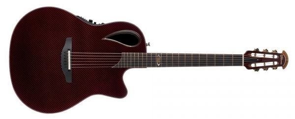 Ovation 40th Anniversary Mid Contour Cut BK