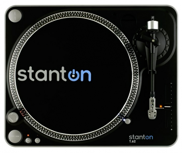 Stanton T62 Turntable inkl. System