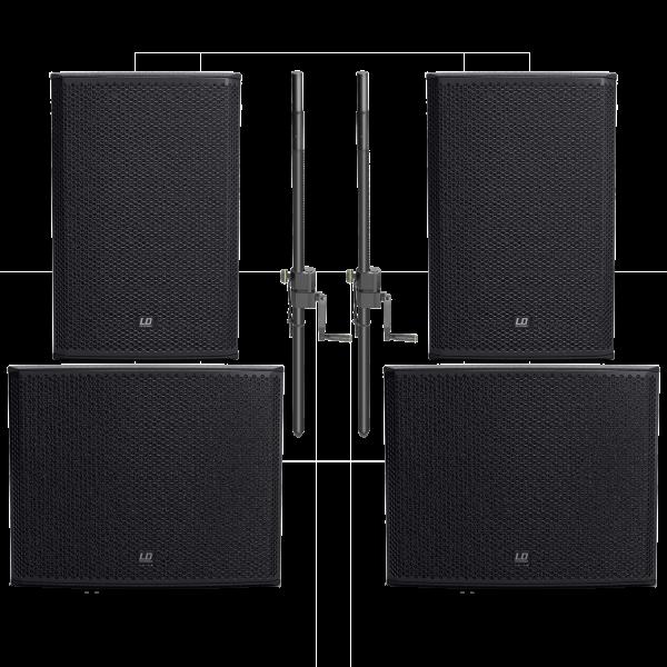 LD Systems Stinger Set1 15/18