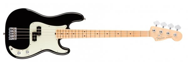 Fender AM Pro Precision Bass MN BLK