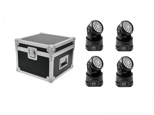 Eurolite Set 4 x LED TMH-7 + Case