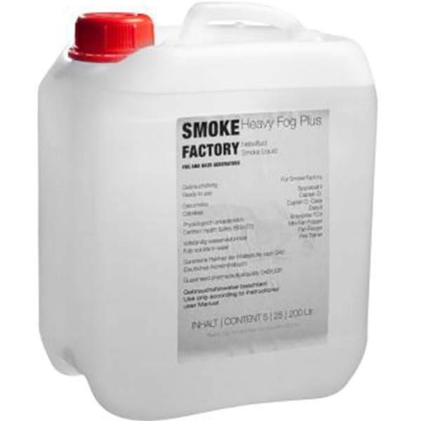 Smoke Factory Heavy-Fog Plus 5 Liter