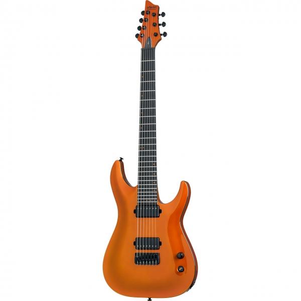 Schecter Signature Merrow KM-7 Lambo Orange