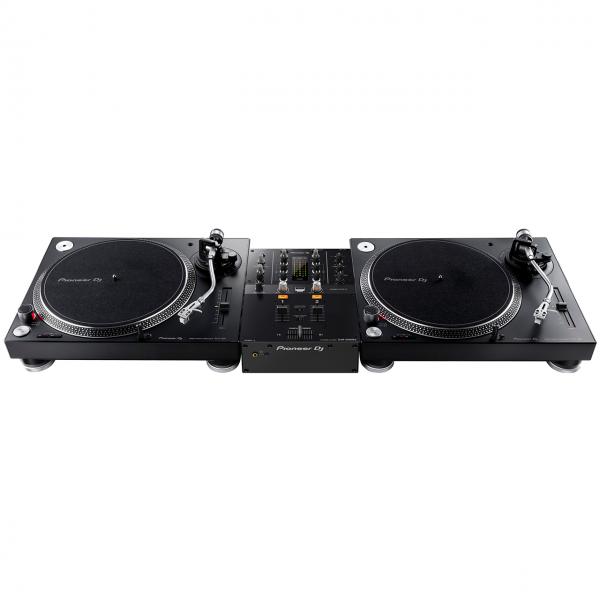 Pioneer PLX Set 1 - 2 x PLX-500-k, 1 x DJM-250MK2