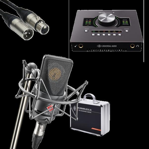 UA Studio Set - UA Apollo Twin x Duo HE + Neumann TLM103 MT Mono