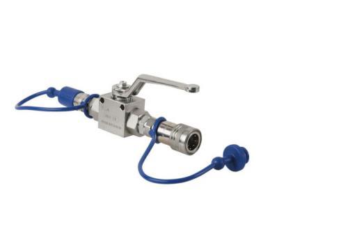 Showtec CO2 Q-Lock Shut-off valve
