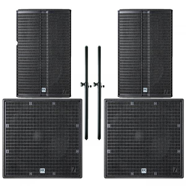 HK Audio L7 Set - 115 FA + 118 Sub A