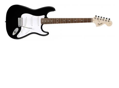 Fender Squier Strat RW Black